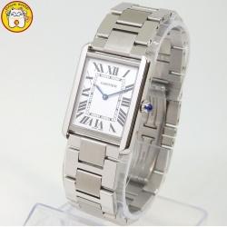 CARTIER カルティエ タンクソロLM メンズ腕時計を買取しました