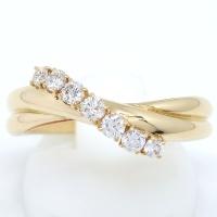 【POLA】 ポーラ 750  ゴールド ダイヤモンド 0.29ct 指輪