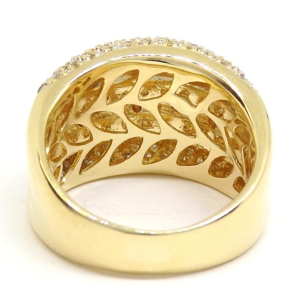 画像5: K18 ゴールド ダイヤモンド 1.00ct 指輪 PG ピンクゴールド ピンクダイヤ