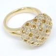 画像3: K18 ゴールド ダイヤモンド 指輪 (3)