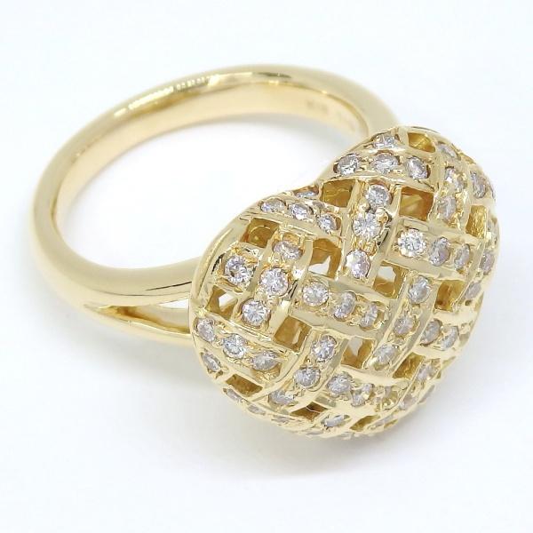 画像3: K18 ゴールド ダイヤモンド 指輪