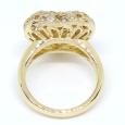 画像4: K18 ゴールド ダイヤモンド 指輪 (4)