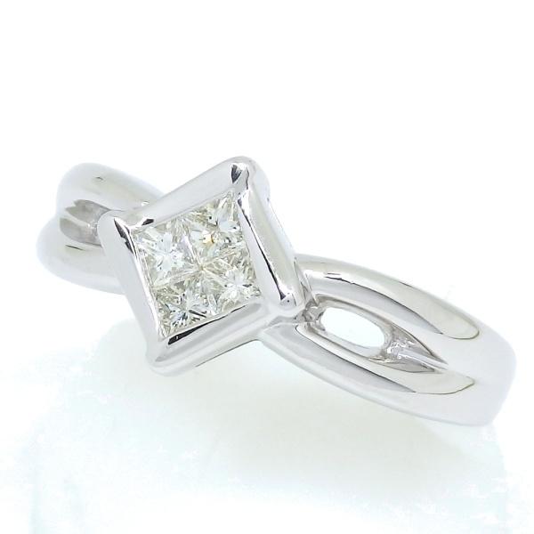 画像2: Pt900 プラチナ ダイヤモンド 0.30ct 指輪