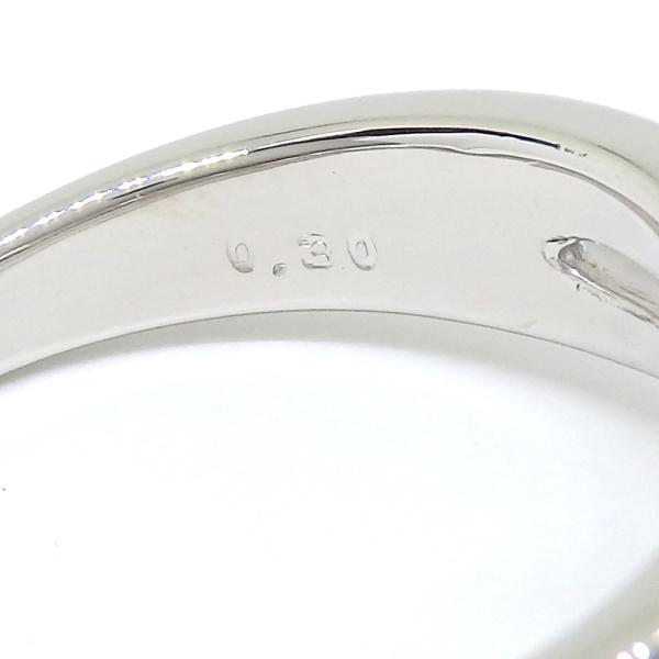 画像5: Pt900 プラチナ ダイヤモンド 0.30ct 指輪