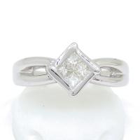 Pt900 プラチナ ダイヤモンド 0.30ct 指輪