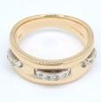画像1: 【VENDOME】ヴァンドーム青山 K18 ゴールド  ダイヤモンド 指輪 (1)