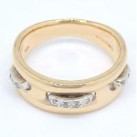 【VENDOME】ヴァンドーム青山 K18 ゴールド  ダイヤモンド 指輪
