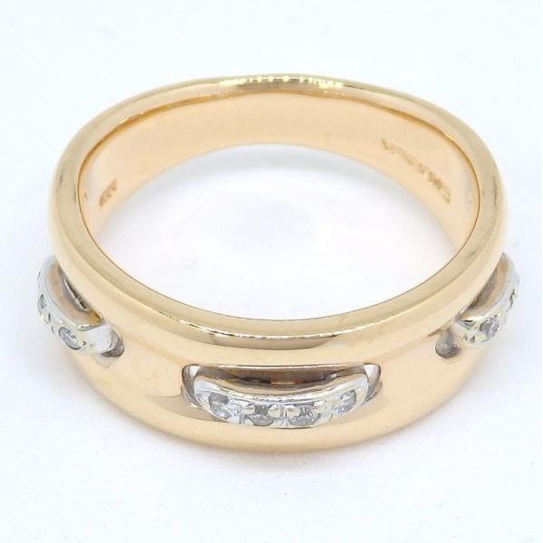 画像1: 【VENDOME】ヴァンドーム青山 K18 ゴールド  ダイヤモンド 指輪
