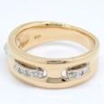 画像4: 【VENDOME】ヴァンドーム青山 K18 ゴールド  ダイヤモンド 指輪 (4)