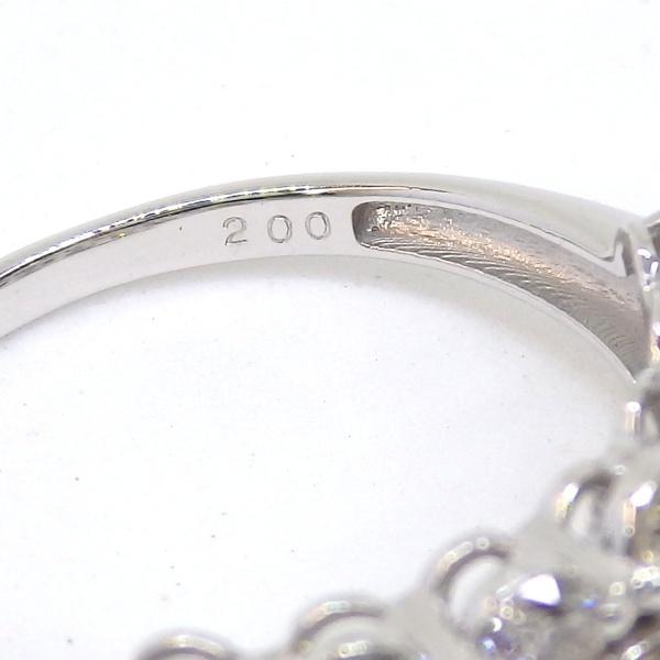 画像5: Pt900 プラチナ  ダイヤモンド 2.00ct 指輪