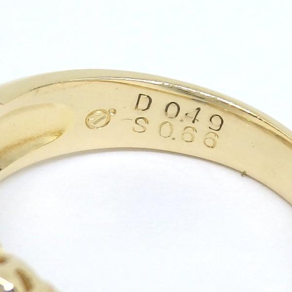 画像5: K18 ゴールド サファイア ダイヤモンド 指輪