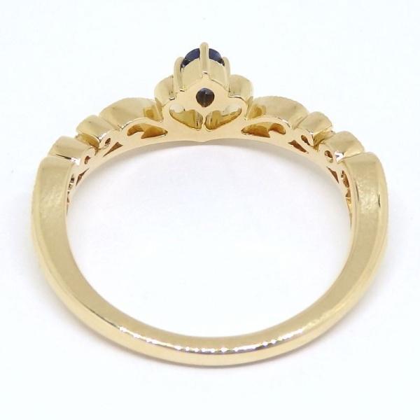 画像4: 【EAU DOUCE 4℃】オデュース ヨンドシー 750 ゴールド サファイアア ダイヤモンド  指輪 リング #11